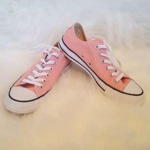 Pink Converse All Star Chuck Taylor's